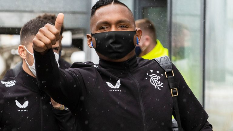 Alfredo Morelos looks to be on his way out of Rangers