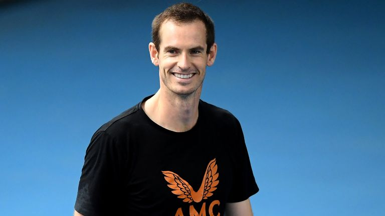 Andy Murray says he has 'missed' playing at Grand Slams