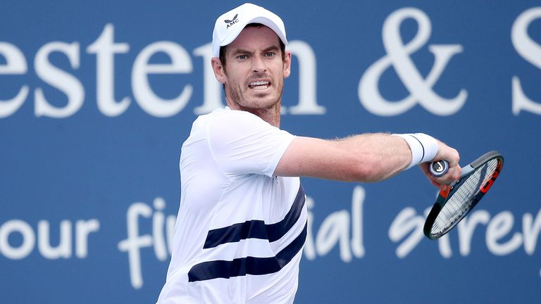 Andy Murray is set to play his first singles tournament at a Grand Slam since having a metal plate inserted into his joint in January 2019