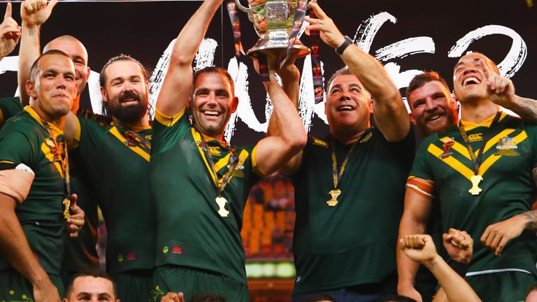 Hosts Australia defeated England in the final to win the 2017 Rugby League World Cup
