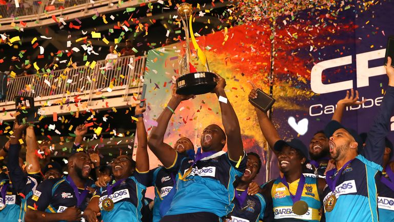 Barbados Tridents are the defending Caribbean Premier League champions