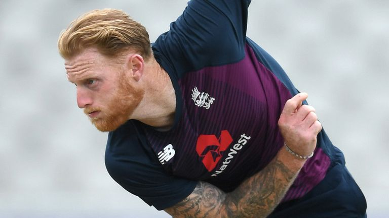 England will assess whether Ben Stokes is fit to bowl before naming their team for the first Test against Pakistan
