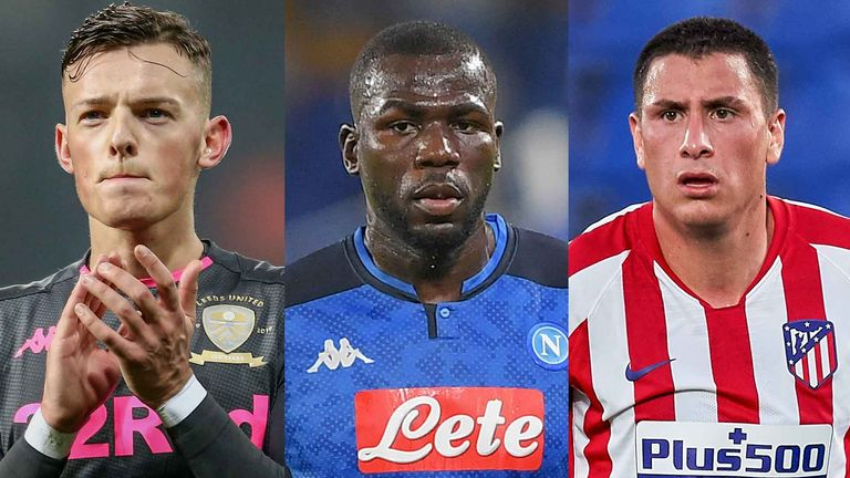 Ben White, Kalidou Koulibaly and Jose Gimenez are all being monitored by Premier League clubs