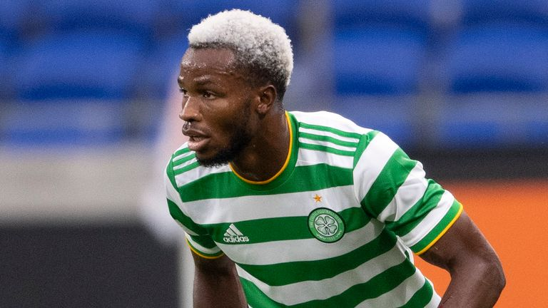 Celtic defender Boli Bolingoli has been given an immediate three-match ban with a further two suspended