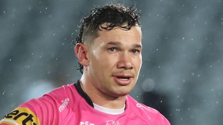 Brent Naden was allegedly racially abused by spectators at Central Coast Stadium on Friday