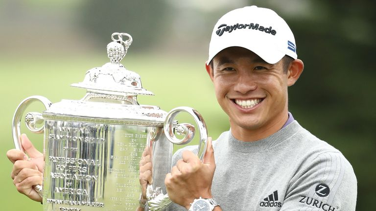 Collin Morikawa claimed maiden major title with a two-shot victory at TPC Harding Park