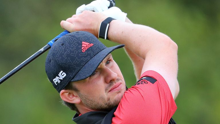 Connor Syme is chasing a maiden European Tour title at the ISPS Handa Wales Open