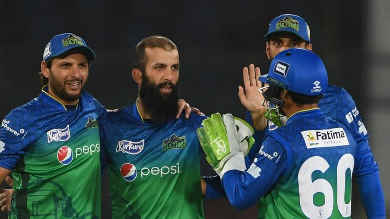 Moeen Ali played for Multan Sultans in the Pakistan Super League earlier this year