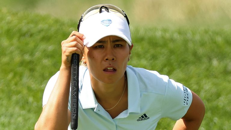 Kang didn't know where she stood as there are no leaderboards at Inverness