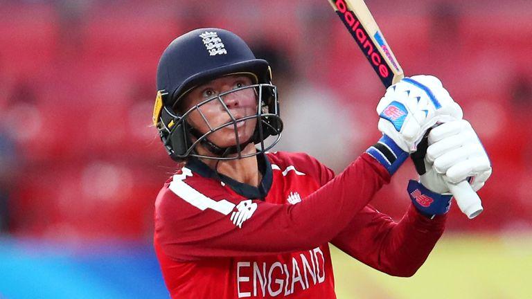 Danni Wyatt is staying positive that England Women will be in action later this summer