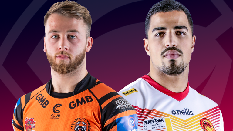 Castleford and Catalans kick off Saturday's Super League double-header