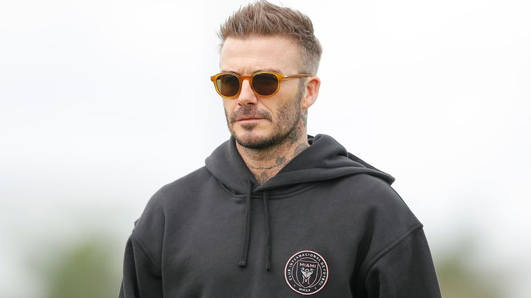 David Beckham is co-owner of Inter Miami, who joined MLS this year