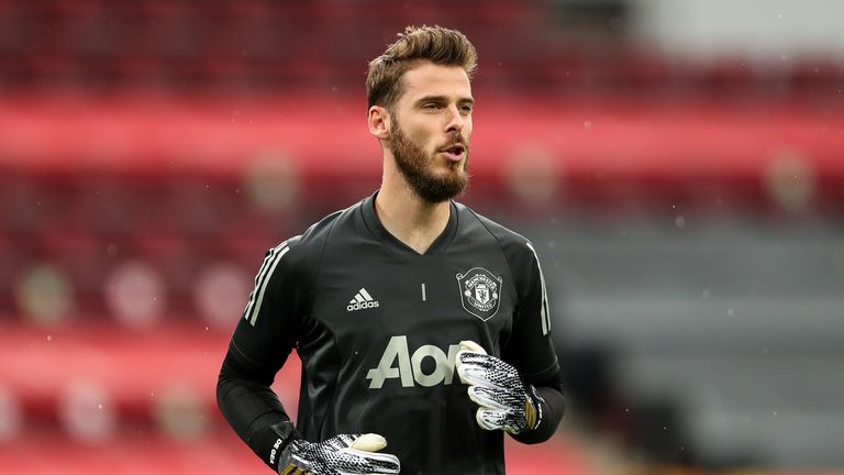 David de Gea will face competition from Henderson for the number one shirt next season