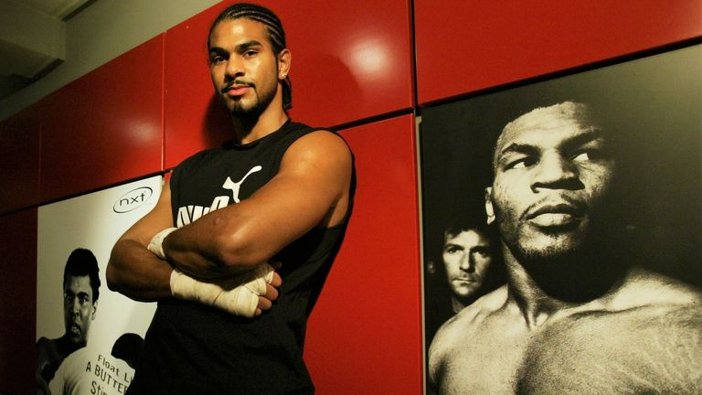 Haye was one of the hottest talents in British boxing