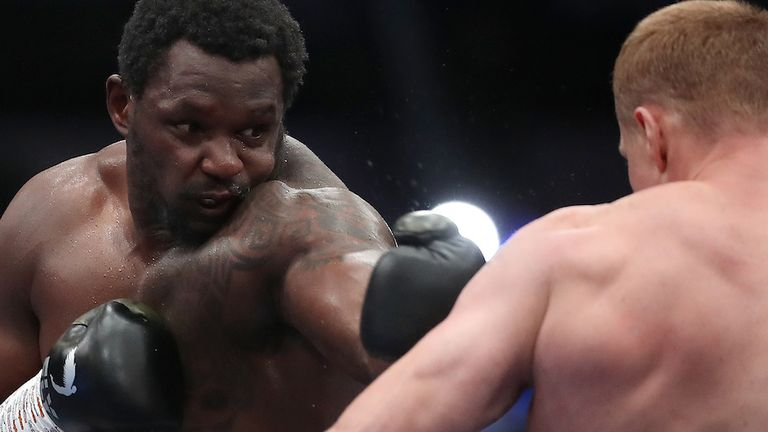 Dillian Whyte is preparing for his rematch with Alexander Povetkin