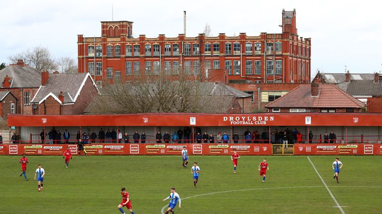 The club's chairman Dave Pace has described the decision to withdraw from the league 'as the most difficult he has ever had to make'