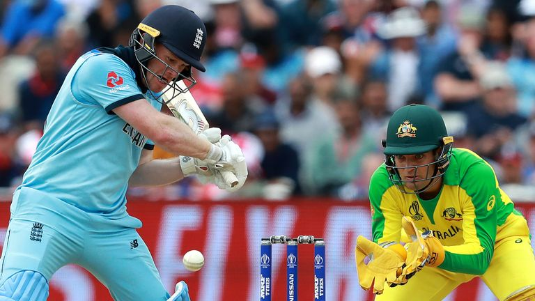 England beat Australia in the semi-finals of the 2019 Cricket World Cup