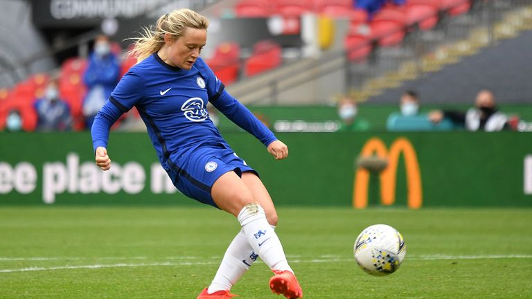 Erin Cuthbert is in contention for Young Player of the Year