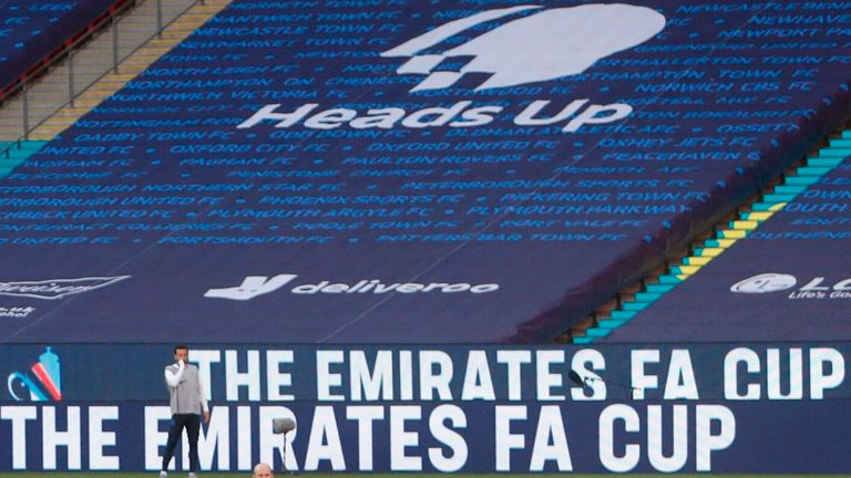 Saturday's FA Cup final between Chelsea and Arsenal at Wembley has been renamed the Heads Up FA Cup final