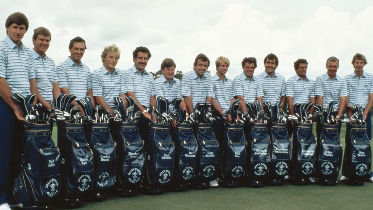 Brand featured in the same Ryder Cup team as Sir Nick Faldo and Seve Ballesteros