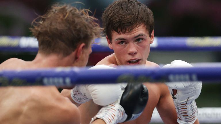 Hopey Price completed a classy victory over Jonny Phillips