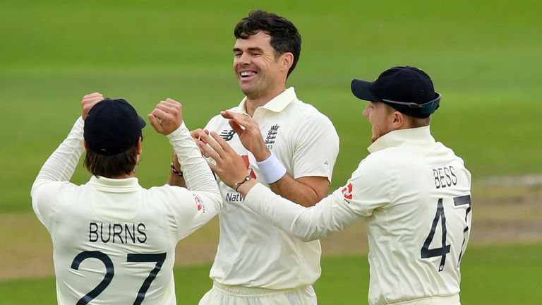 Anderson has taken 590 Test wickets for England