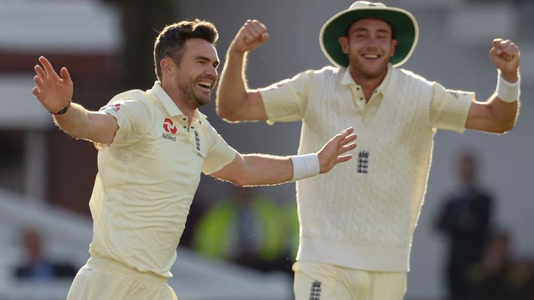 Look at some of Anderson's milestone wickets for England
