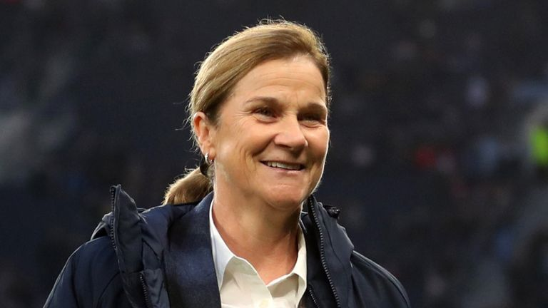 Former USA head coach Jill Ellis is the current frontrunner to succeed Phil Neville