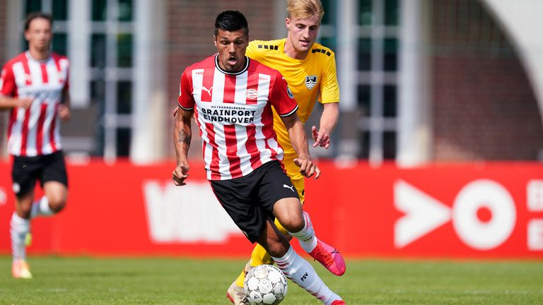 St Mirren are interested in signing PSV forward Joel Piroe this summer