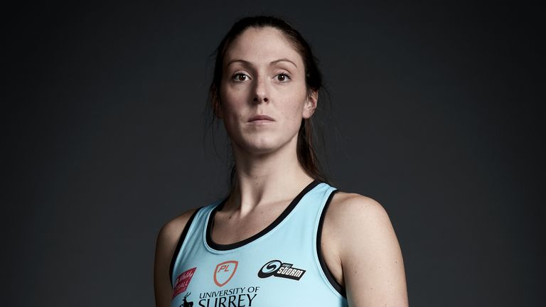 Hughes thanked Storm's fans after announcing her retirement
