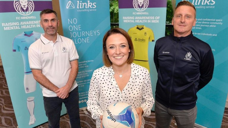 Former Premier League star Keith Gillespie (left) has joined FC Mindwell