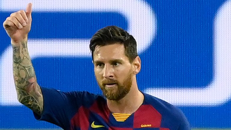 Messi's father is expected to meet with the Barcelona hierarchy on Thursday to discuss his son's future
