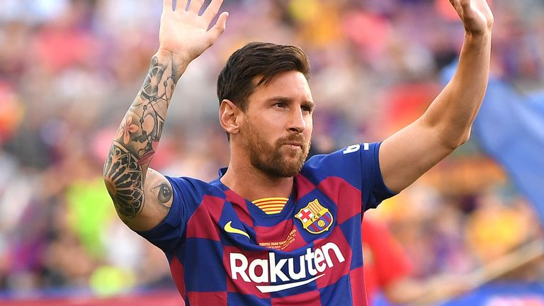 Micah Richards, Gary Neville and Jamie Carragher give their views on the potential transfer of Lionel Messi from Barcelona to Man City