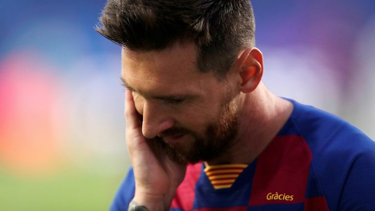 Lionel Messi is said to be weighing up his future