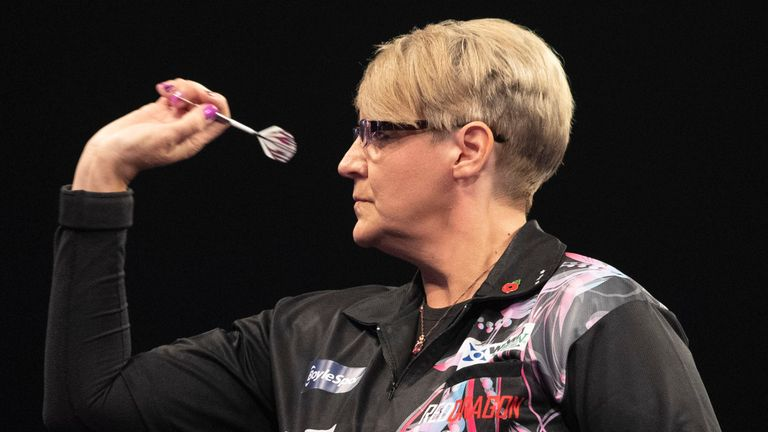 Lisa Ashton made history in January by becoming the first woman to win a PDC Tour Card at Q School