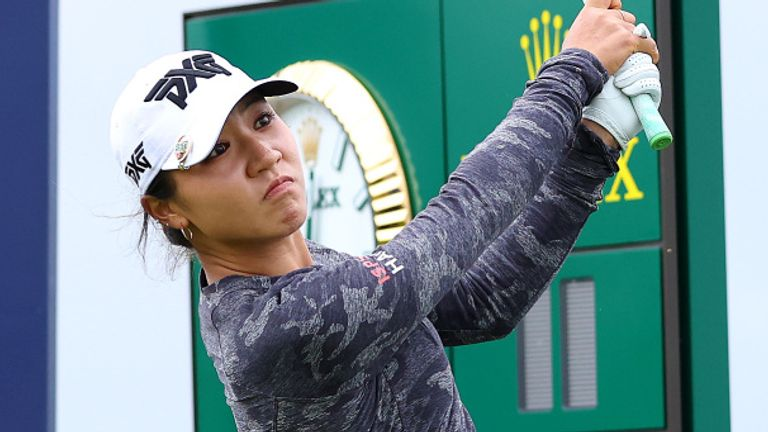 Lydia Ko is two strokes off the halfway lead at the AIG Women's Open