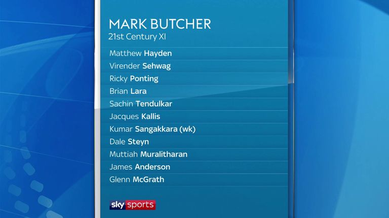 Mark Butcher had the final word as chief selector of the Cricket Debate's 21st century world XI