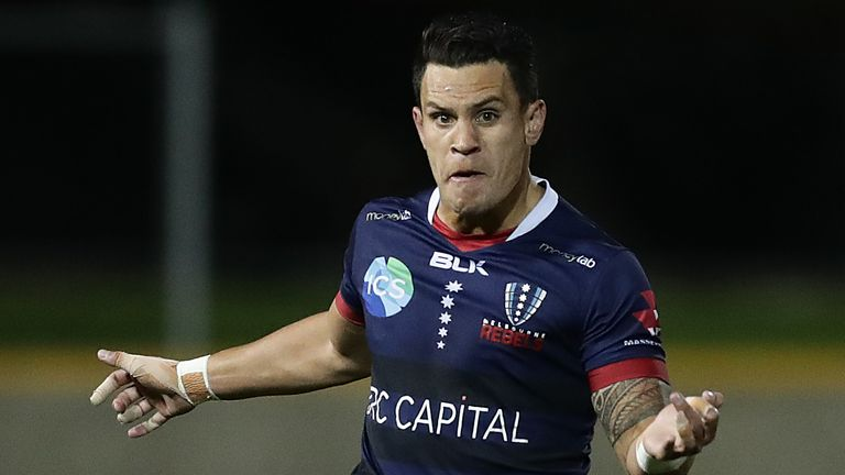 Matt Toomua kicked a late penalty to register a critical losing bonus-point for the Rebels in defeat against the Waratahs