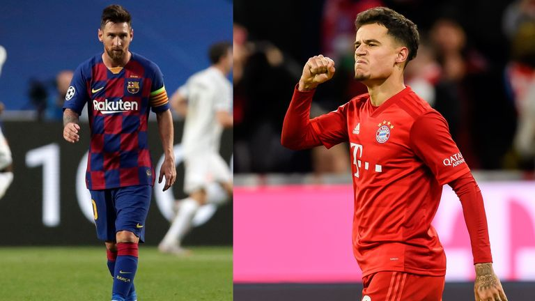 Lionel Messi and Philippe Coutinho could be team mates again at Barcelona next season