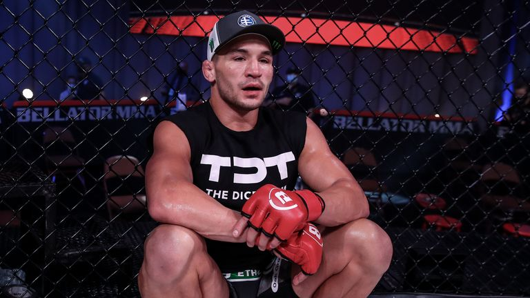 Michael Chandler became a free agent following his knockout win over Benson Henderson