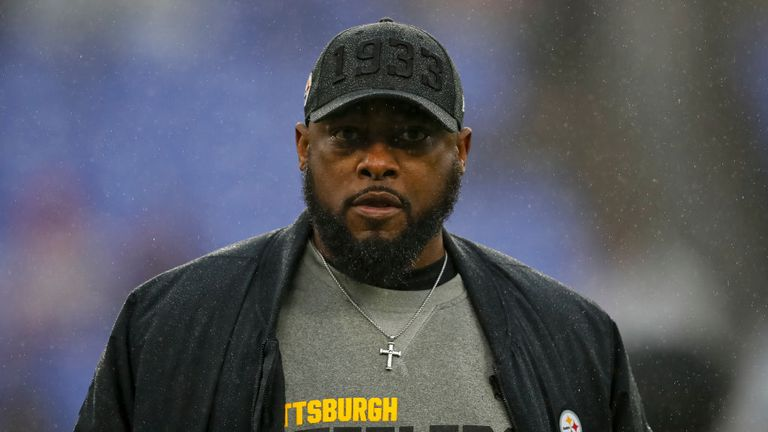 Steelers head coach Mike Tomlin called off the team's practice on Friday