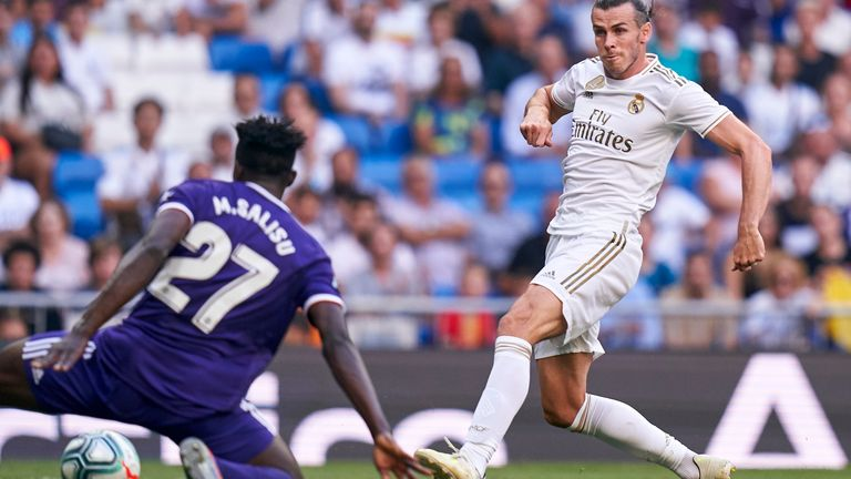 Salisu up against former Southampton star Gareth Bale last season