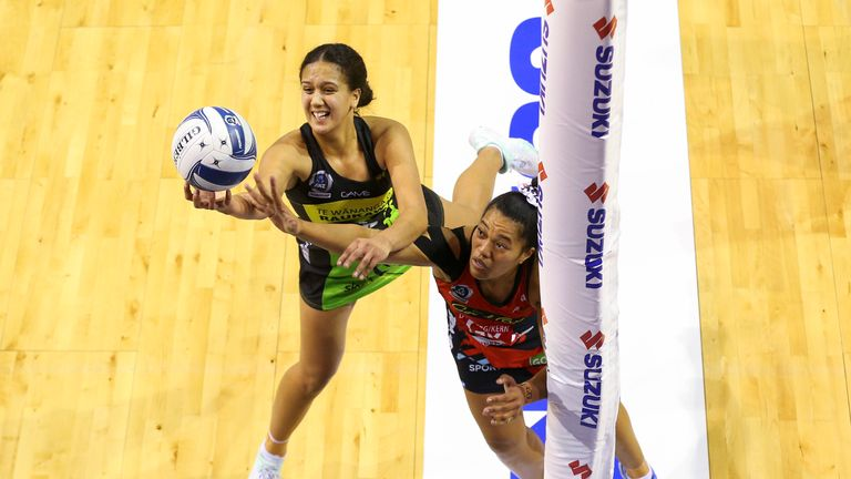Pulse and Tactix met in Round Nine of this season's ANZ Premiership
