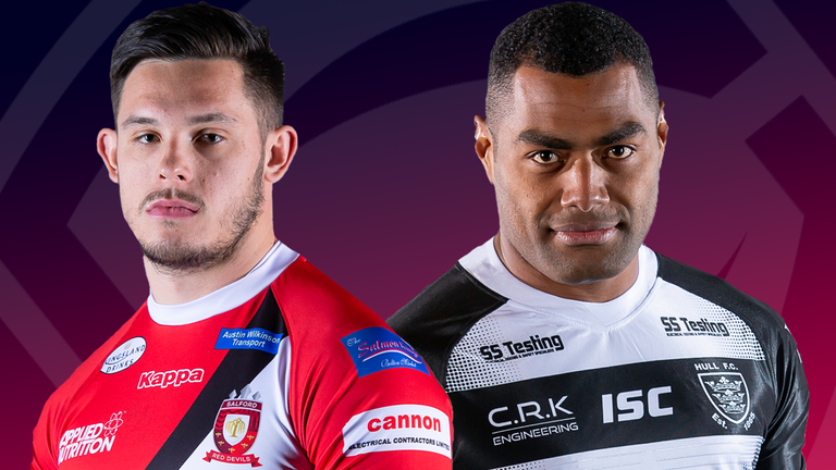 Salford and Hull kick off Sunday's Super League triple-header