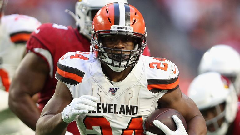 Nick Chubb has become one of the leaders of the Browns' offense