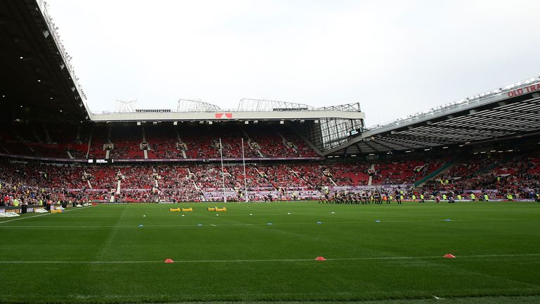 Old Trafford will host the men's and women's World Cup finals