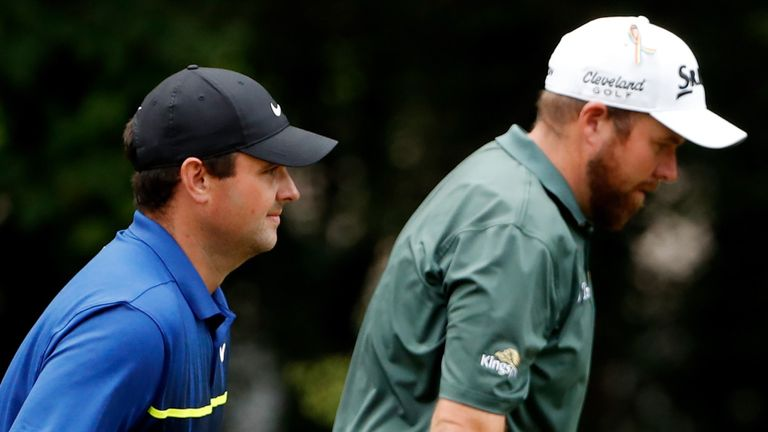 Lowry played alongside Patrick Reed (pictured) and Paul Casey