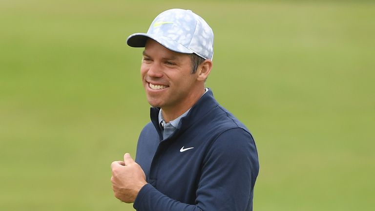 Paul Casey is two off the lead after the third round