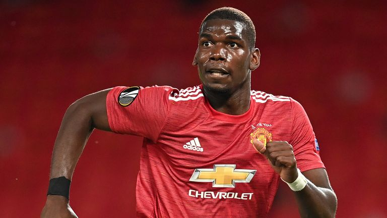 Paul Pogba is working hard to get back to his best, says Solsjaer
