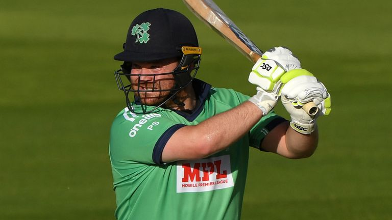 Paul Stirling made an unbeaten 80 and took two wickets on his Northants debut